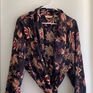 Vintage silk Victoria Secret Bathrobe